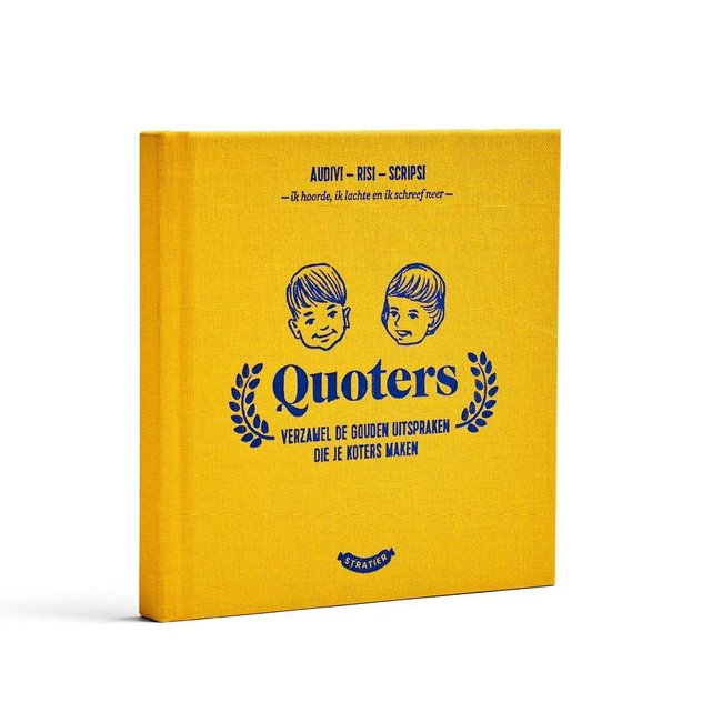 Stratier Wonder Years Booklet 'Quoters'