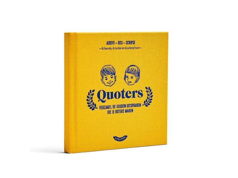 Stratier Petit Livre 'Quoters'