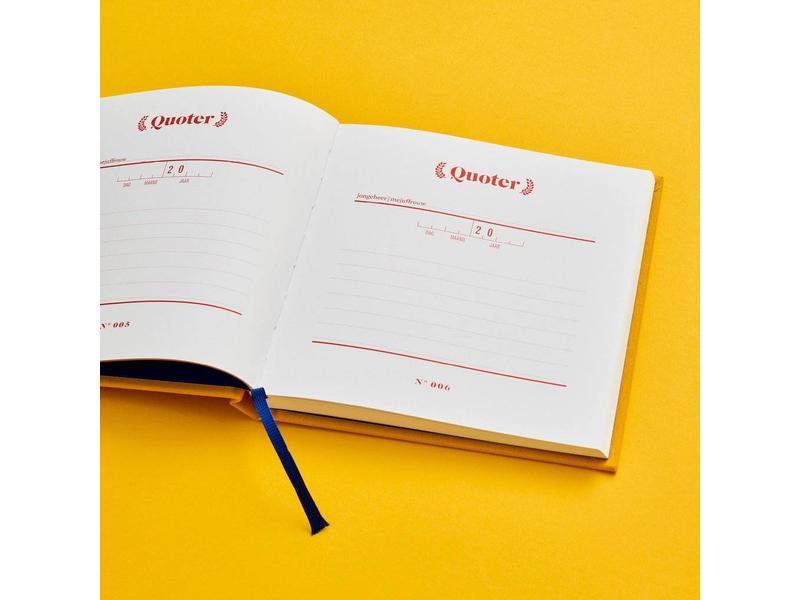 Stratier Wonderjaren Boekje 'Quoters'