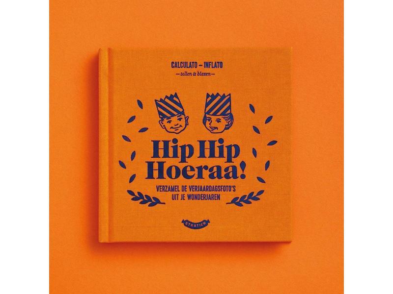 Stratier Wonderjaren Boekje 'Hip Hip Hoeraa!'