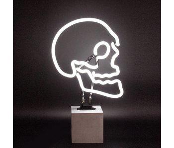 Neon Lamp 'Doodshoofd' (cube beton, L)