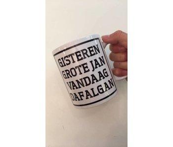 Tasse à Café  'Gisteren Grote Jan'