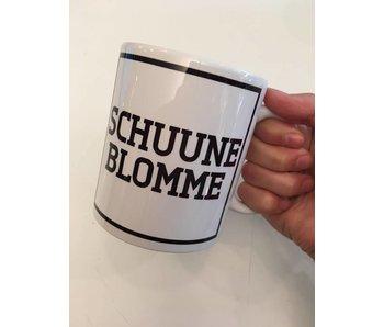 Tasse à Café  'Schuune Blomme'
