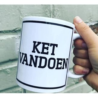 Urban Merch Beker 'Ket Vandoen'