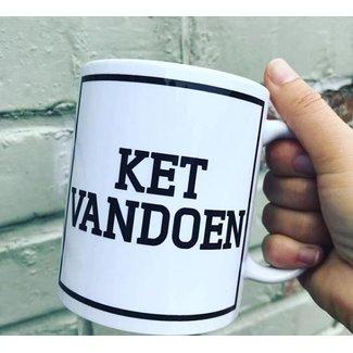 Urban Merch Tasse à Café  'Ket Vandoen'