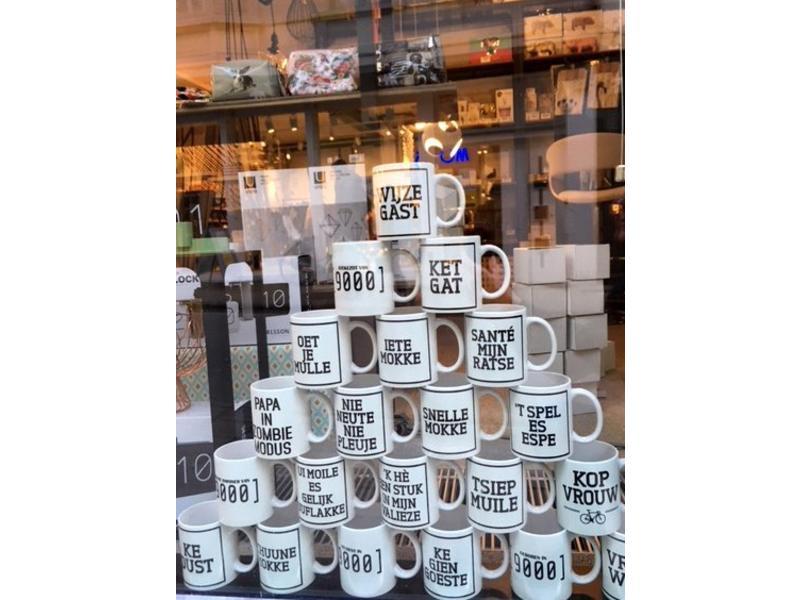 Urban Merch Tasse à Café  'Ge Ga Hard Of Ge Ga Nie'