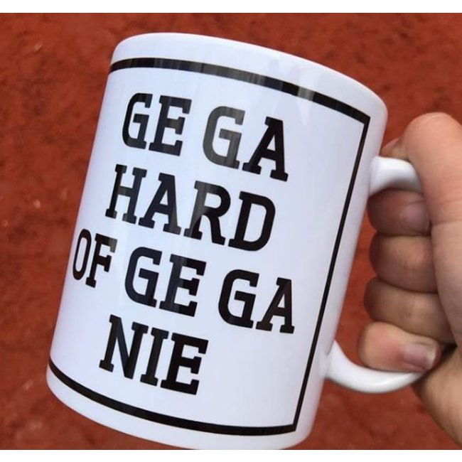 Tasse à Café  'Ge Ga Hard Of Ge Ga Nie'