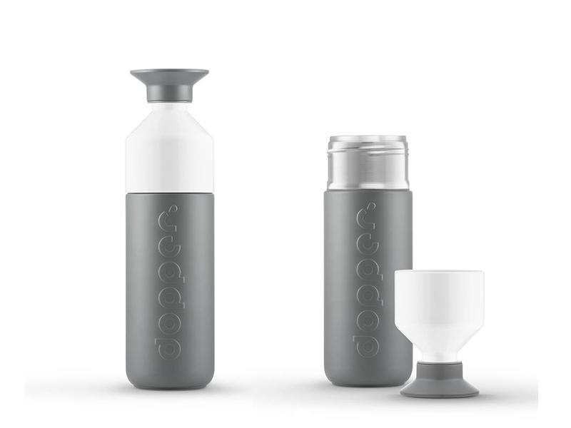 Dopper Thermos / Insulated bottle 'Dopper Insulated 580 ml' (glacier grey)