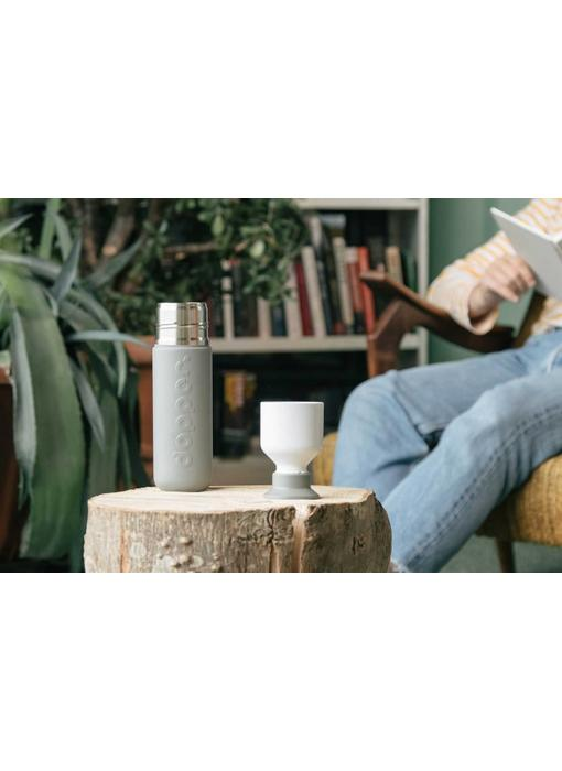 Thermos / Insulated bottle 'Dopper Insulated 580 ml' (glacier grey)