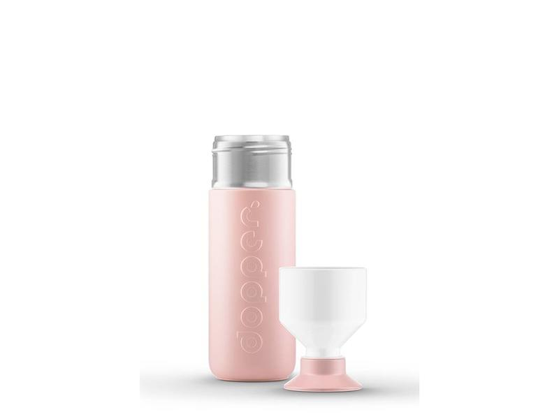 Dopper Thermos / Isoleerfles 'Dopper Insulated 580 ml' (steamy pink)
