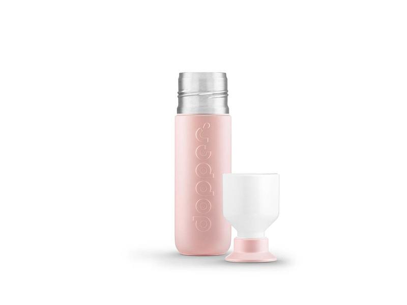 Dopper Thermos / Isoleerfles 'Dopper Insulated 350 ml' (steamy pink)
