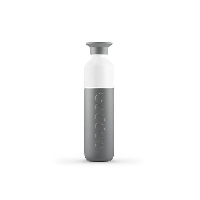 Thermos / Insulated bottle 'Dopper Insulated 350 ml' (glacier grey)