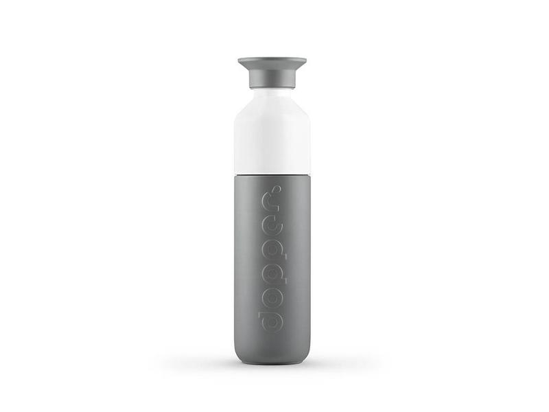 Dopper Thermos / Isoleerfles 'Dopper Insulated 350 ml' (glacier grey)