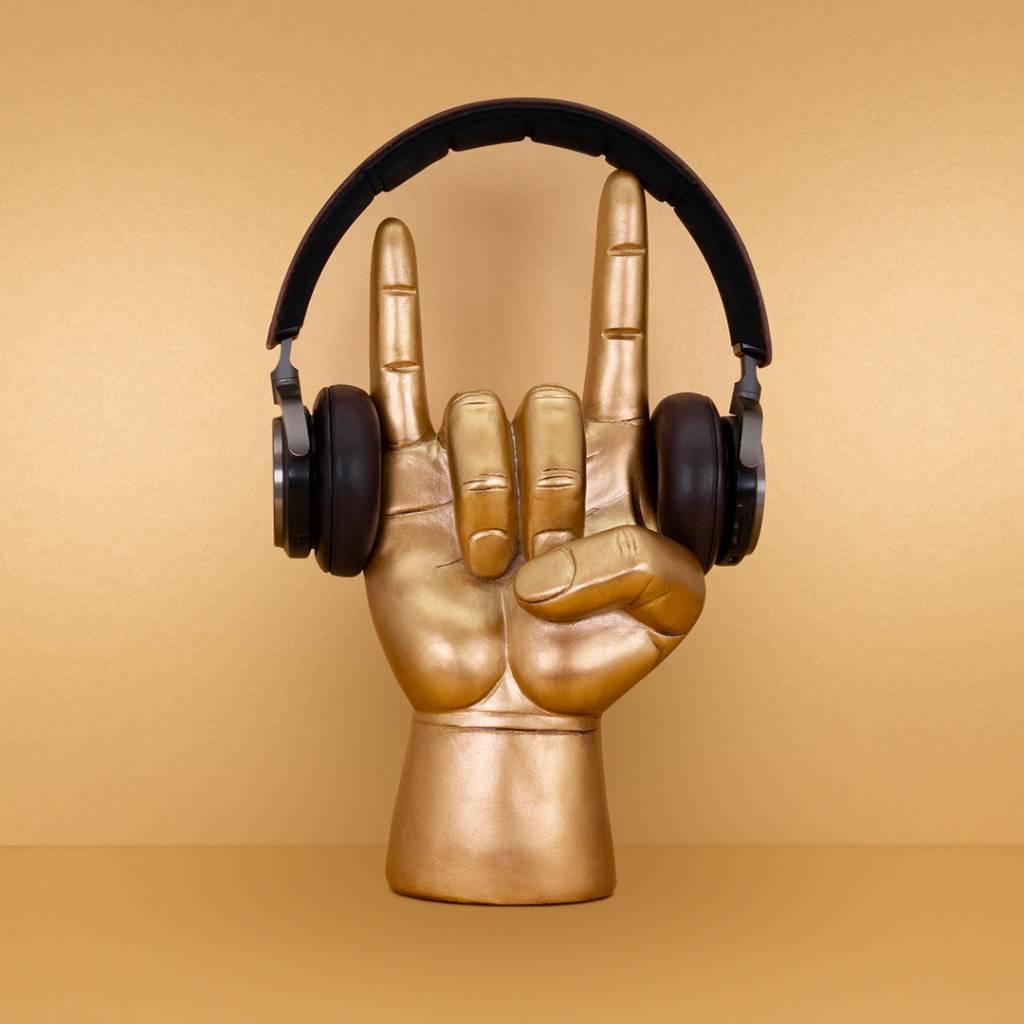 Original Gifts Headphone Stand Rock On Luckies
