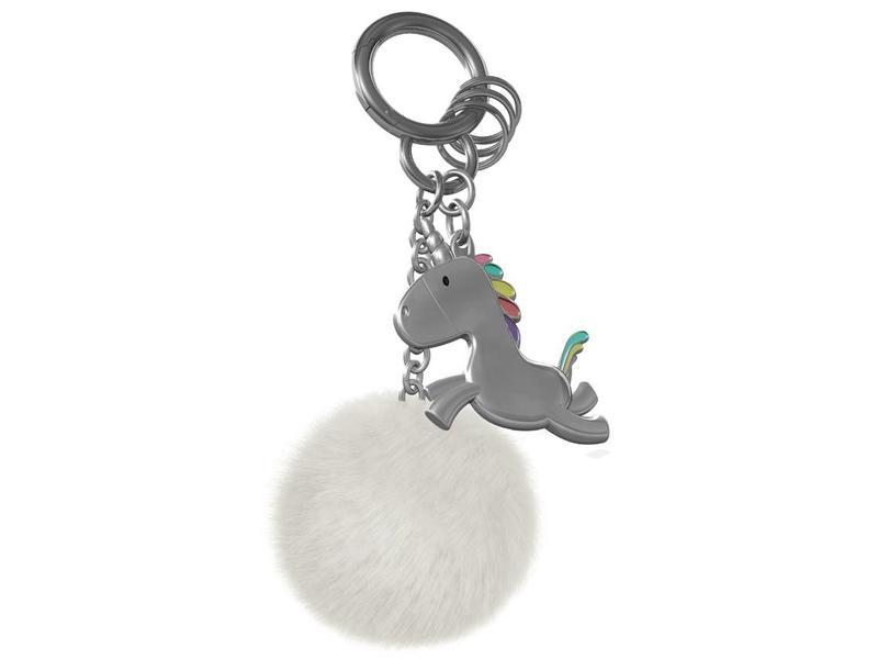 Keychain 'Unicorn with Pompom'