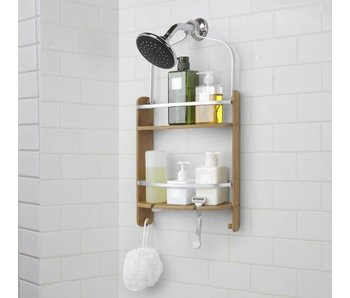 Shower Caddy Rack 'Barrel' (natural)