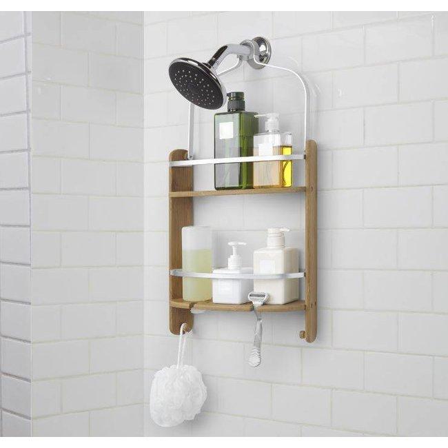 Shower Caddy Rack 'Barrel' (natural)