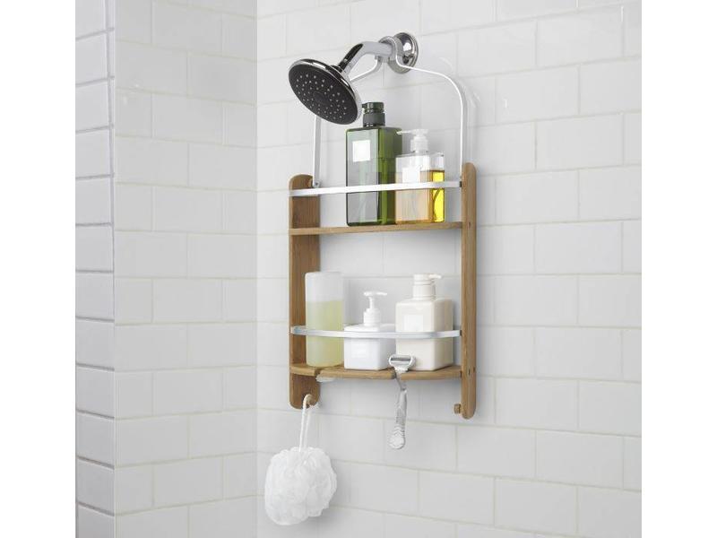 Umbra Shower Caddy Rack 'Barrel' (natural)