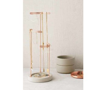 Jewelry Holder 'Tesora' (concrete - copper)