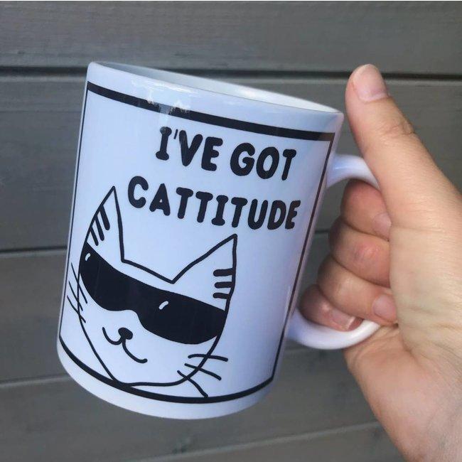 Mug 'I've Got Cattitude'