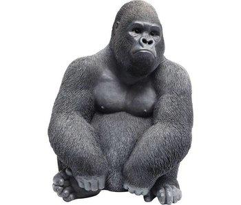 Deco Beeld 'Gorilla Aap' (medium)