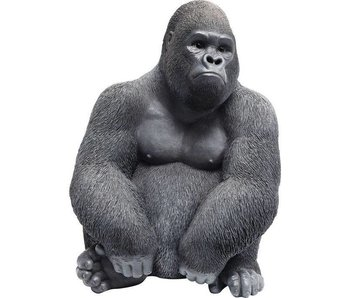 Deco Statue 'Gorilla Monkey' (medium)