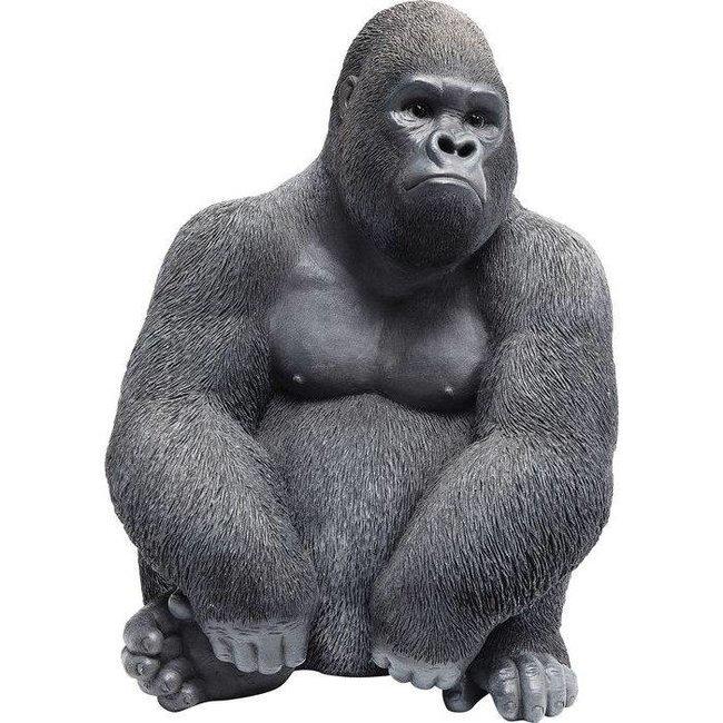 Deko-Statue 'Gorilla Affe' (mittel)