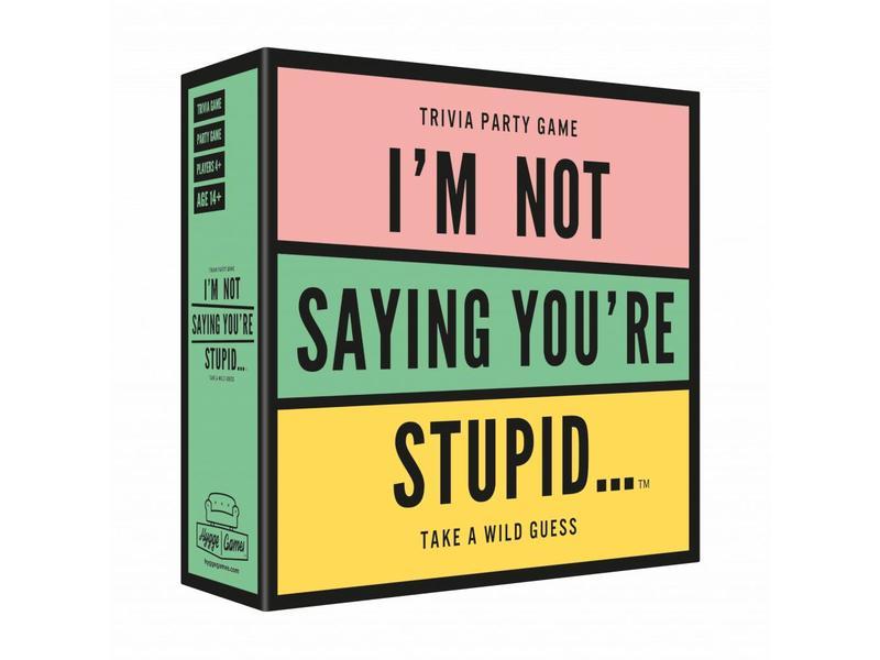 Hygge Games Jeu de Party 'I'm Not Saying You're Stupid'