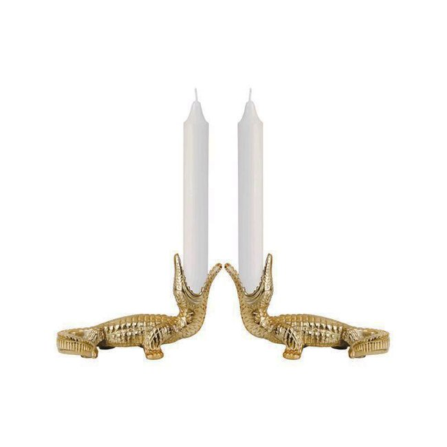 &klevering Candle Holder 'Crocodile'