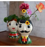 Kitsch Kitchen Vase 'Señor'