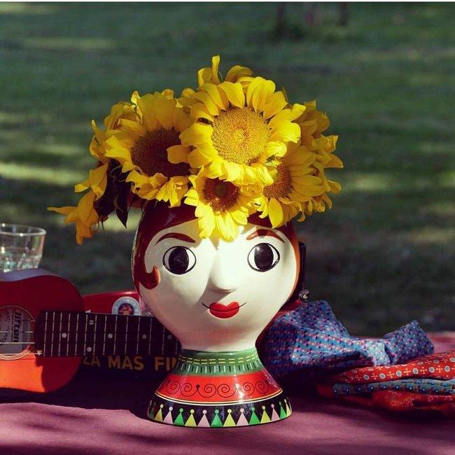 Kitsch Kitchen Vase 'Señora'