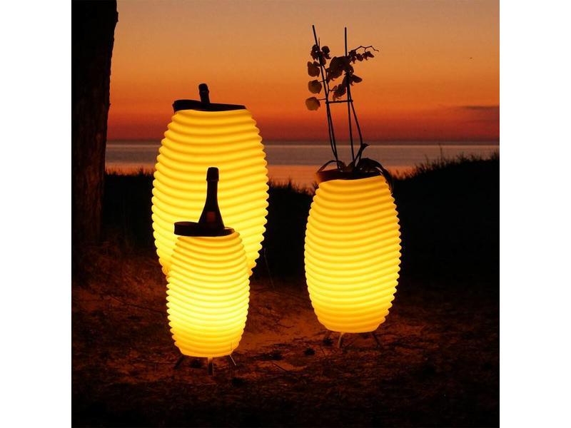 Kooduu Haut-Parleur Bluetooth + Lampe + Refroidisseur à Vin Synergy 50 Stereo (medium) - édition 2019