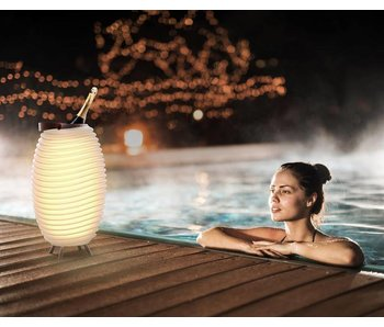 Speaker + LED Lamp + Wine Cooler 'Synergie 35' (small)