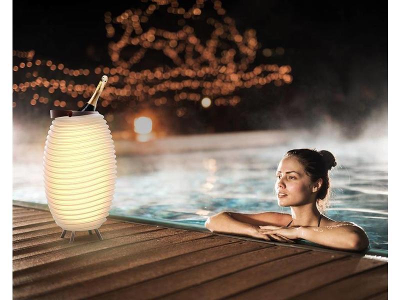 Kooduu Speaker + LED Lamp + Wijnkoeler 'Synergie 35' (small)