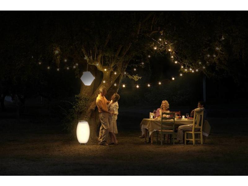Kooduu Bluetooth Speaker + Lamp + Wijnkoeler 'Synergie 65 Stereo ' (large) - editie 2019