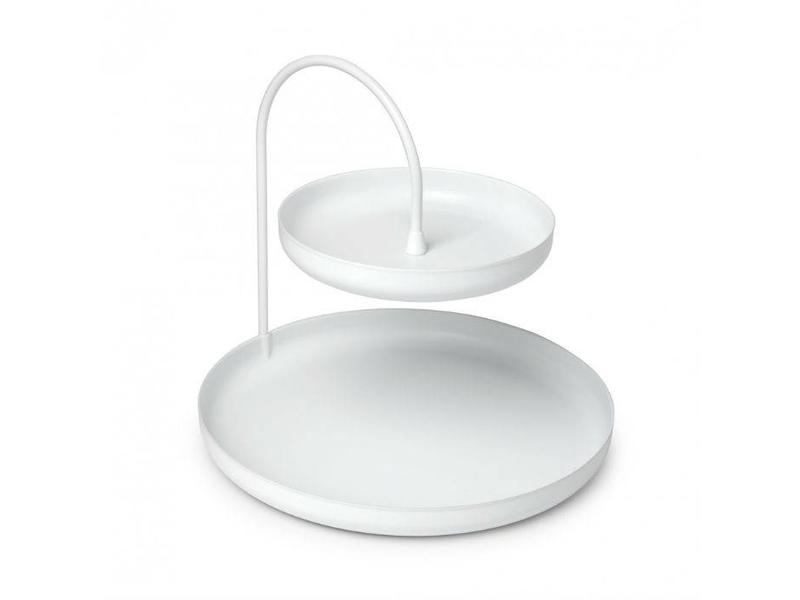 Umbra Plateau d'accessoires 'Poise' (blanc)