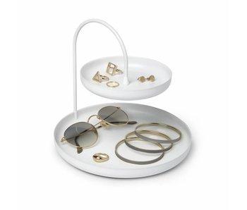Plateau d'accessoires 'Poise' (blanc)
