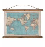 Carte du Monde 'Rétro'