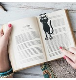Balvi Bookmark 'Curious Cat'