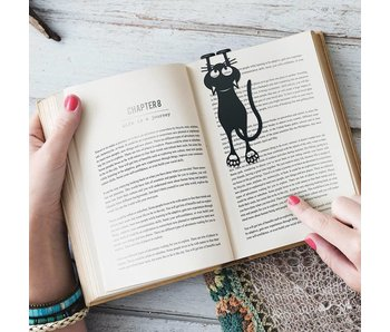 Bookmark 'Curious Cat'