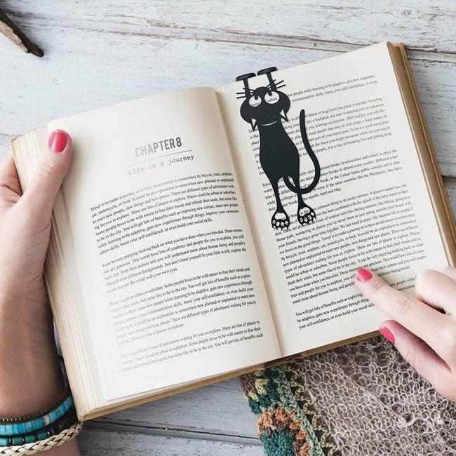Bookmark 'Curious Cat'