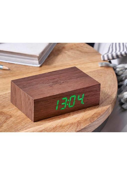 Réveil Flip Click Clock 'Noix'