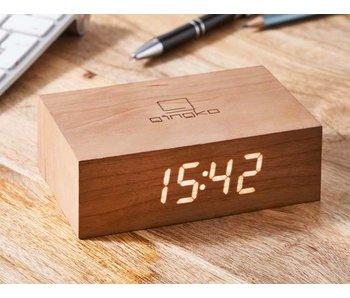 Réveil Flip Click Clock 'Cerise'