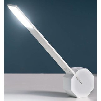 Gingko Desk Lamp 'Octagon One' (white)