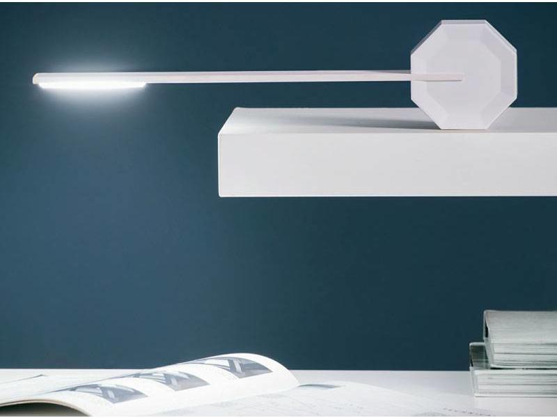 Gingko Lampe de Bureau 'Octagon One' (blanc)