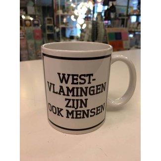Urban Merch Mug 'West-Vlamingen Zijn Ook Mensen'
