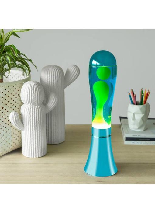 Lampe à Lave Bleu - Vert