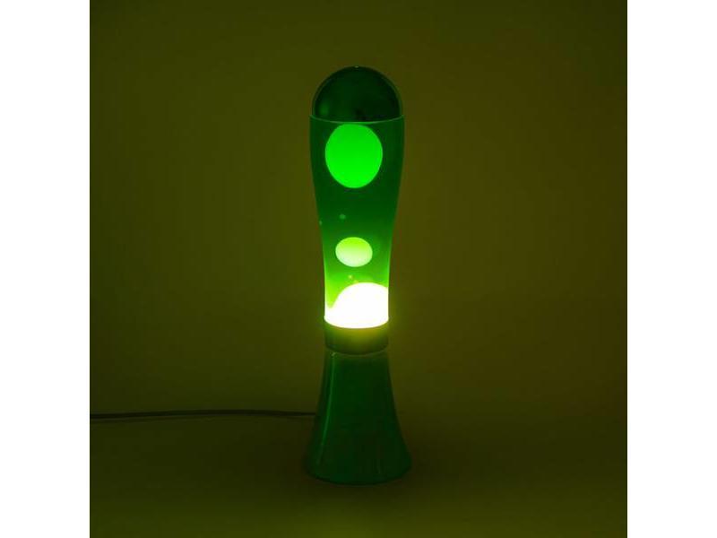 Balvi Lava Lamp 'Blauw met Groene Lava'