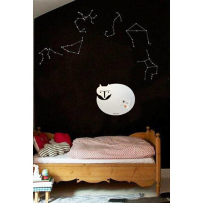 FAB5 Wonderwall Magnetic Board & Whiteboard 'White Fox' (M)