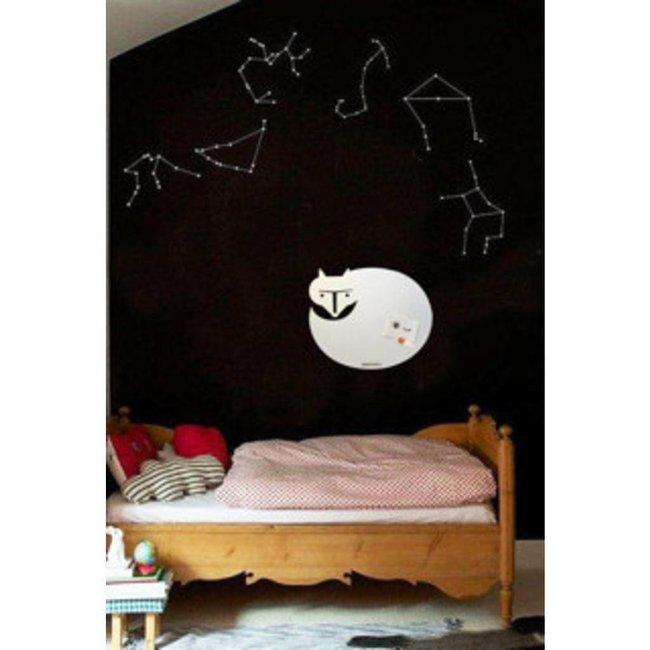 Magnetic Board & Whiteboard 'White Fox' (M)